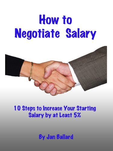 Amazon com: How to Negotiate Salary - 10 Steps to Increase