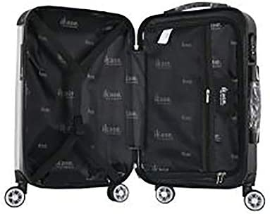 Ikase Hardside Spinner Luggage Arbol de la esperanza mantente Orange background