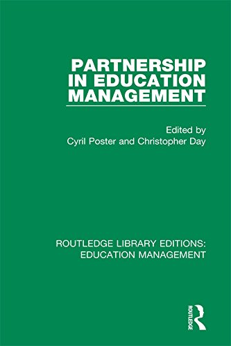 Lea Poster - Partnership in Education Management (Routledge Library Editions: Education Management)