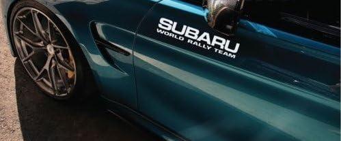 Subaru World Rally Team sticker STI subaru Turbo awd impreza boosting 12 Pair aus Hochleistungsfolie Aufkleber Autoaufkleber Tuningaufkleber von SUPERSTICKI/® aus Hochleistungsfolie f/ür alle glatten Fl/ächen UV und Waschanlagenfest Tuning Prof