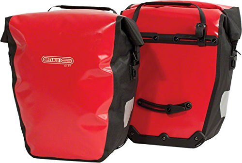 Ortlieb Back Roller City Panniers, Red One Color One Size