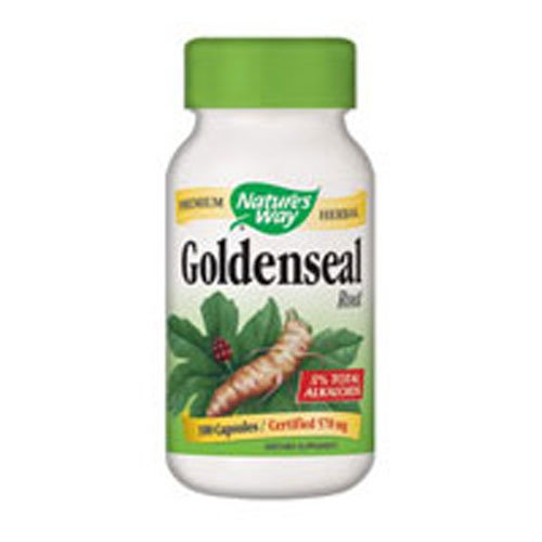 NATURE'S WAY GOLDENSEAL ROOT 100 CAP