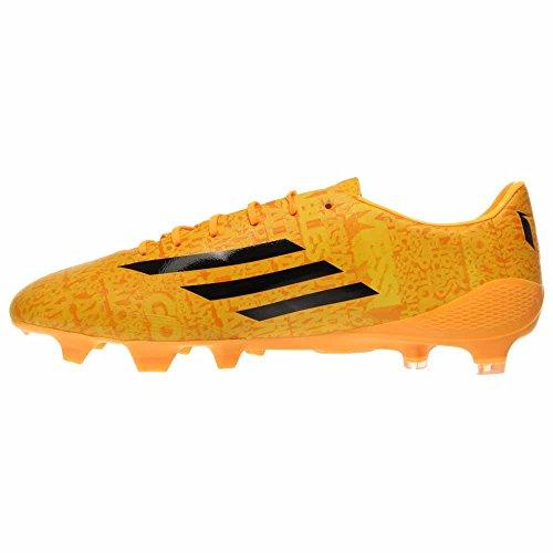 Adidas F50 Adizero Fg Messi World Cup, Wit / Blauw / Oranje Solar Goud / Zwart / Zwart
