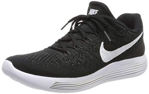 Nike Women Lunarepic Low Flyknit 2 Running (Black/White-Anthracite) Size 8.0 US