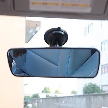 Etbotu 24 8 7 Cm Blendfreie Spiegel Innen Rückspiegel Rückspiegel Mit Saugnapf Für Fahrzeug Auto Schwarz Blau Auto