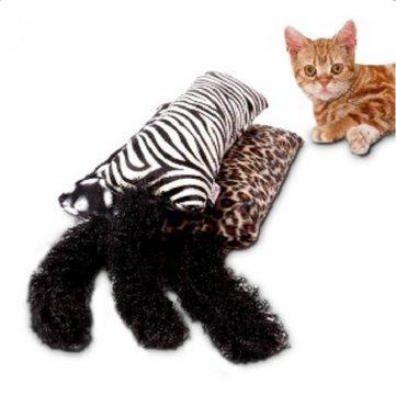 Cat Toy Bed - Cat Sleeping Mat - Kitten Toy Catnip Cushion Cat Toy Cat Bed Soft Sleep Mat Pets Supplies - Zebra ( Soft Cat Bed )