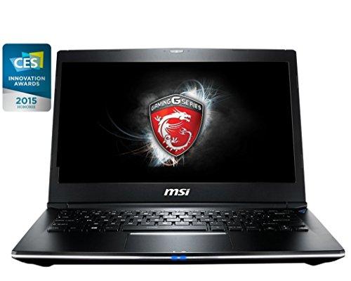 CUK MSI GS30 Shadow 13.3-inch i7-4870HQ 16GB 128GB SSD + 128GB SSD Full HD Windows 8.1 Gaming Computer Laptop