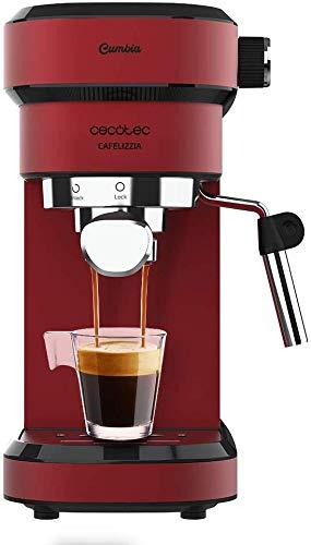 Cecotec Cafetera Express Cafelizzia 790 Shiny para espressos y capuccinos