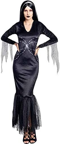 Disfraz Lady Morticia Mujer (Talla L) Halloween: Amazon.es ...