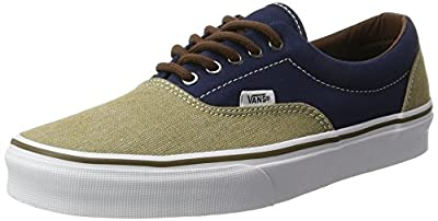 Vans Era Shoes UK 8 T H Dress Blues Khaki