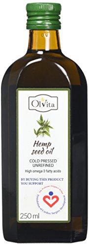 Olvita Raw Hemp Seed Cold-Pressed, Unrefined 250ml