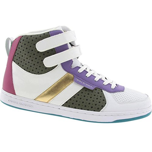 Dicoco Sneaker Lo The - Creative Recreation Dicoco WCR3928-WPMFU Women's Casual Shoes 7.5 B(M) White/Purple / Fuchsia