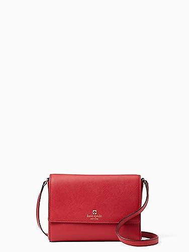 Amazon Com Kate Spade Cove Street Dody Leather Crossbody Bag Red