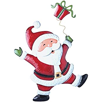 Christmas Cheerful Character Garden Decor Yard Stake Santa
