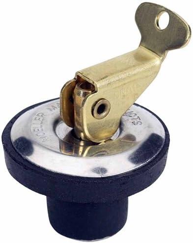 """MOELLER Boat Marine Deck /& Bait Well Drain Plug 9//16/"""" Diameter Plug"""
