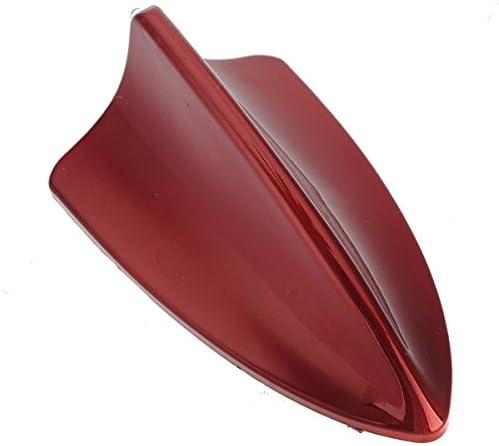GOZAR Aileron De Requin Antennes De Voiture D/écoration avec Lumi/ère pour BMW Audi Rouge