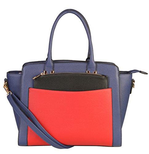 rimen-co-double-top-handles-three-tone-structured-satchel-tote-women-handbag-plus-1-additiona-mini-c