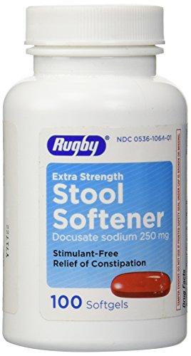 (Stool Softener Docusate Sodium 250 mg 100 Caps)