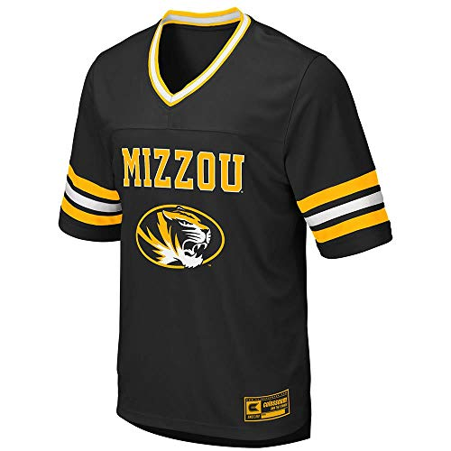Colosseum Mens Missouri Tigers Football Jersey - 2XL - Missouri Tigers Football Jersey