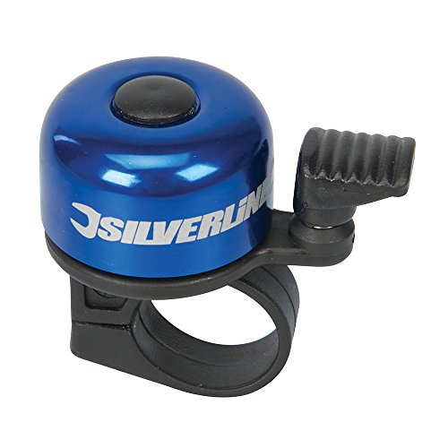Silverline 858804 One-Touch Ping Bike Bell 80dB