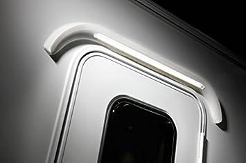 CARAVAN MOTORHOME LED OVER DOOR AWNING LIGHT GUTTER WHITE