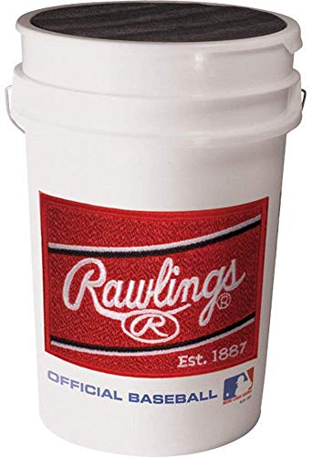 Rawlings Official League Competition Grade Youth Baseballs, Bucket of 30 ROLB1X Balls
