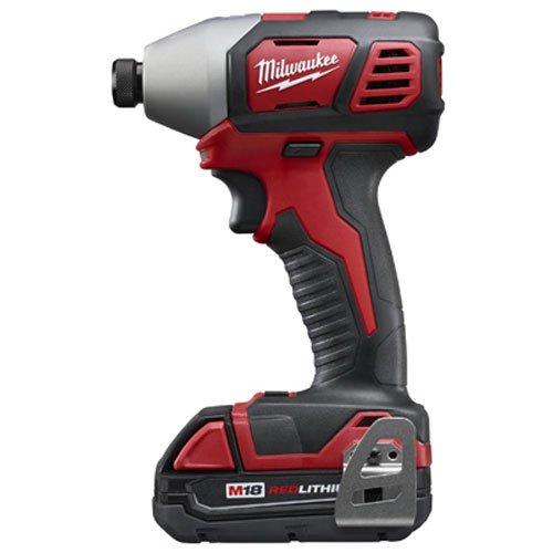 Milwaukee 2657-22CT M18 2-Speed 1/4″ Hex Impact Driver Kit