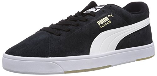Puma - Suede S, Scarpe da ginnastica Uomo Black (Black-white 01)