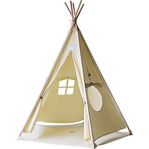 シフラス リトルティピー 【育児 子育て 室内テント クッション 工具不要 組み立て 子供用 窓 遊具】 B07GSQ1WB9