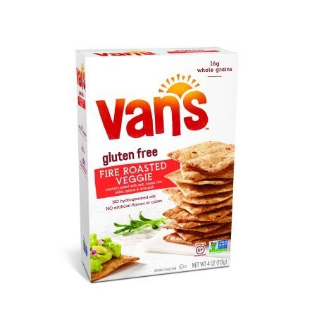 (Fire Roasted Veggie Crackers 4 oz,create an absolutely view kind of gluten free snack)