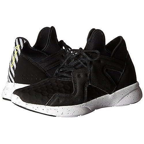 Women's SAYUMI 2.0 Cross-Trainer Shoe, Black/White/Hero Yellow, 6 M US