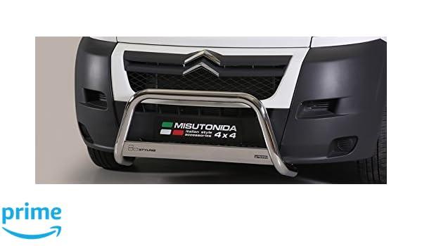 MEDIUMBAR EC/MED/K/350/IX Defensa inox para CITROËN Jumper 2006-2013: Amazon.es: Coche y moto