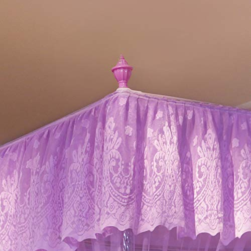 HEXbaby Star Four Corner Post Bed Curtain Canopy for Boys Kids,180200cm