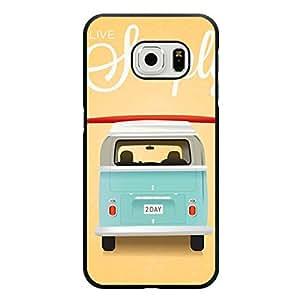 Volkswagen Camper Van Unique Design Cover Shell Fresh Perfect VW Camper Van Phone Case Cover for Samsung Galaxy S6 Edge