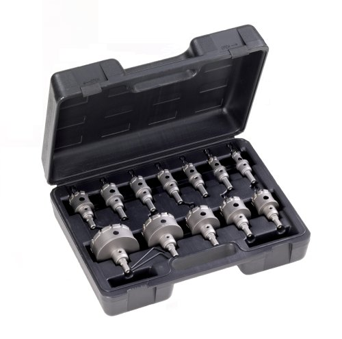Champion CT7P-MECHANICAL-1 Carbide Tipped Hole Cutter Mechanical Set, 12-Piece by Champion Cutting Tool Corp