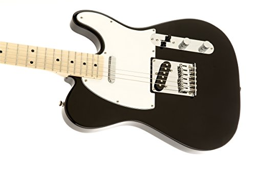 squier by fender affinity telecaster beginner electric guitar maple fingerboard black buy. Black Bedroom Furniture Sets. Home Design Ideas