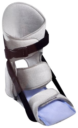 Nice Stretch Original Plantar Fasciitis Night Splint with Polar Ice Cold Therapy, Collapsable, ()