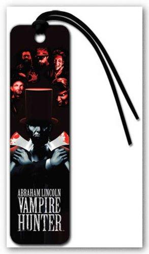 (2x6) Abraham Lincoln Vampire Hunter - Axes Beaded Bookmark]()