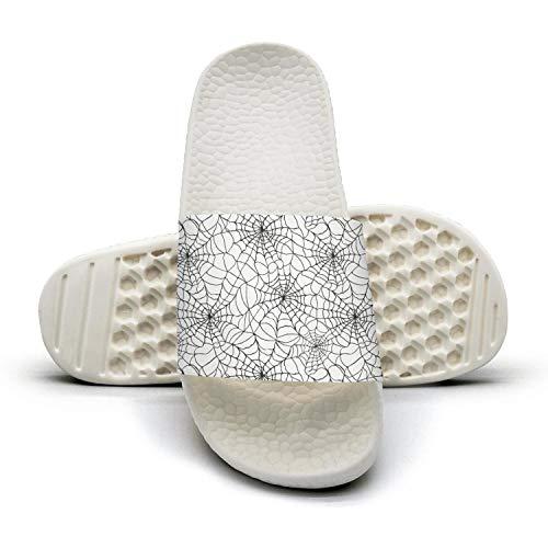 Pretty Women Halloween Spider web Slippers New Lightweight Shoes