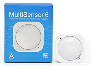 Aeotec Multisensor 6, Z-Wave Plus 6-in1 motion, temperature, humidity