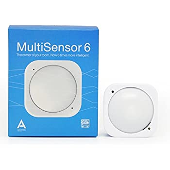 Aeotec Multisensor 6, Z-Wave Plus 6-in1 motion, temperature, humidity, light, UV, vibration sensor