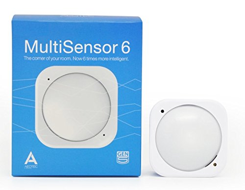 Aeotecマルチセンサー6 Zウェーブプラス1台6役 動作 温度 湿度 光 紫外線 振動センサー B0151Z8ZQY 11817