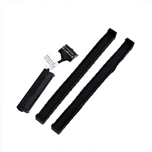 "Price comparison product image Nozomi 2.5"" HDD SATA Cable + Rubber Rail Replacement for Dell XPS 9560 9550 Precision 5520 5510"