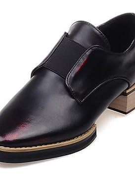 ZQ hug Zapatos de mujer-Tacón Bajo-Puntiagudos-Mocasines-Oficina y Trabajo