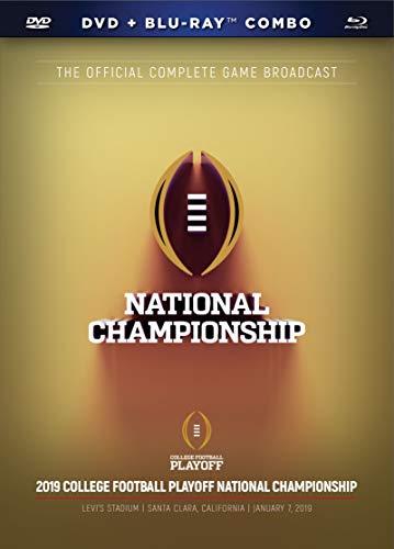 2019 CFP National Championship DVD+BD Combo [Blu-ray]