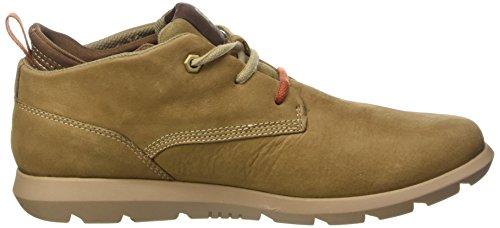 Cat Footwear ROAMER MID - zapatos con cordones de cuero hombre marrón - Braun (MENS CYMBAL)