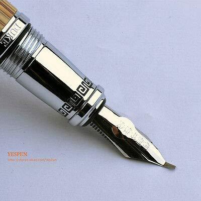 FidgetKute Duke Calligraphy Pen King Crown Confucius Commemorative Pens Bamboo Engraved NWT by FidgetKute (Image #3)