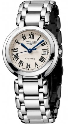 Longines Stainless Steel Wrist Watch (Longines PrimaLuna Mother of Pearl Stainless Steel Ladies Watch)