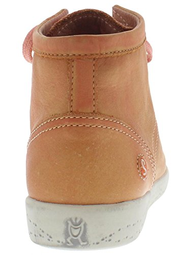 Softinos Isleen, Dames Haute Sneaker Top Salmon