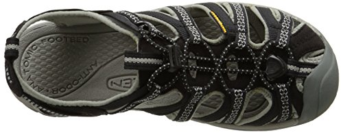 Black Gray BKGA Sandali WHISPER Neutral Nero Gray 5124 Donna Keen Outdoor Neutral Black ESq0xUwXz